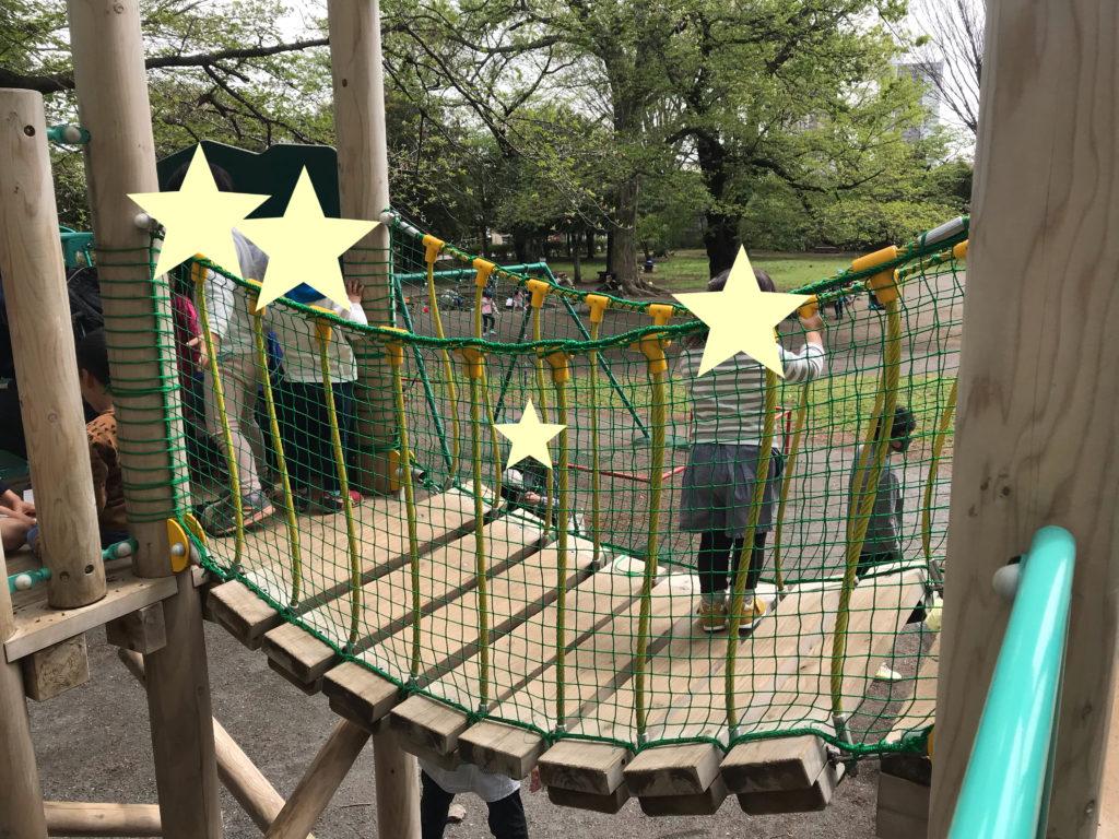 【西久保公園】超たのしい!木製複合遊具&森林浴ができる癒しの公園@武蔵野市