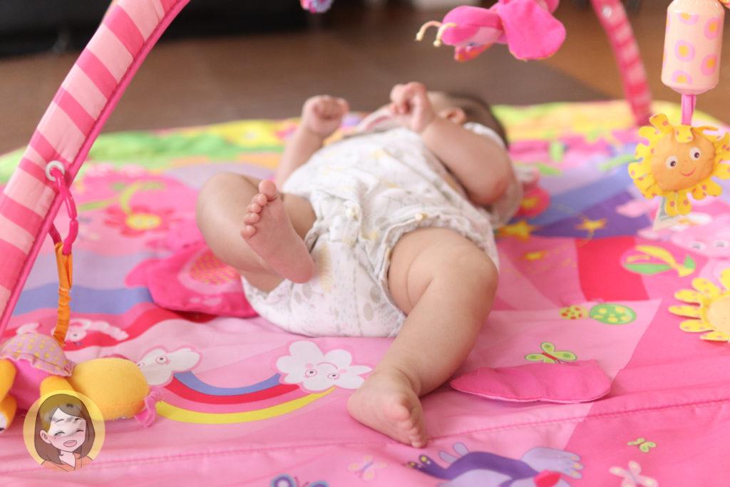 生後5か月の成長記録【身長体重は?夜は寝る?上の子との関わり方は?】