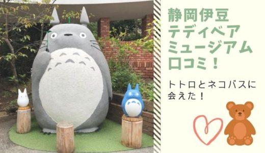 トトロとネコバスに会えた!静岡伊豆テディベアミュージアム口コミ