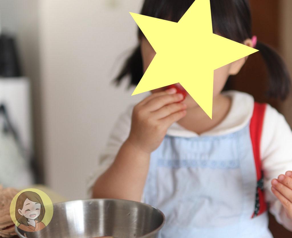 3歳とcotta手作りセットで「簡単クリスマスケーキ」を作った口コミ