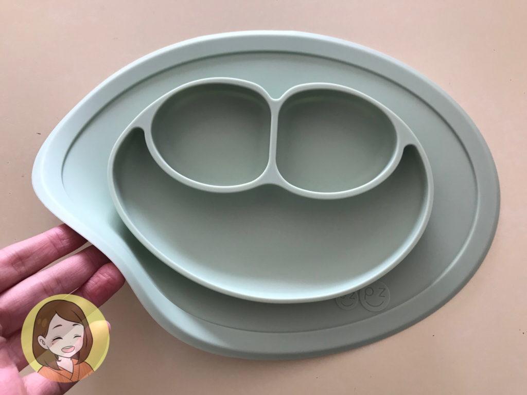 2人目にして買ったひっくり返らないベビー皿が便利!【ezpz口コミ】