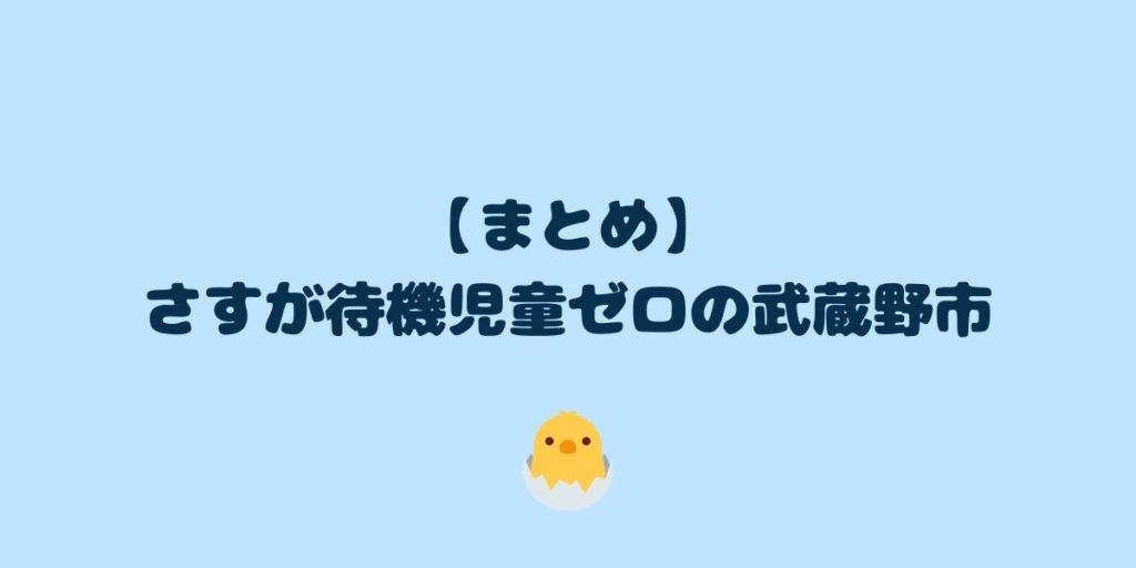 【保活体験談】武蔵野市で1歳と3歳が認可保育園に合格した点数を大公開