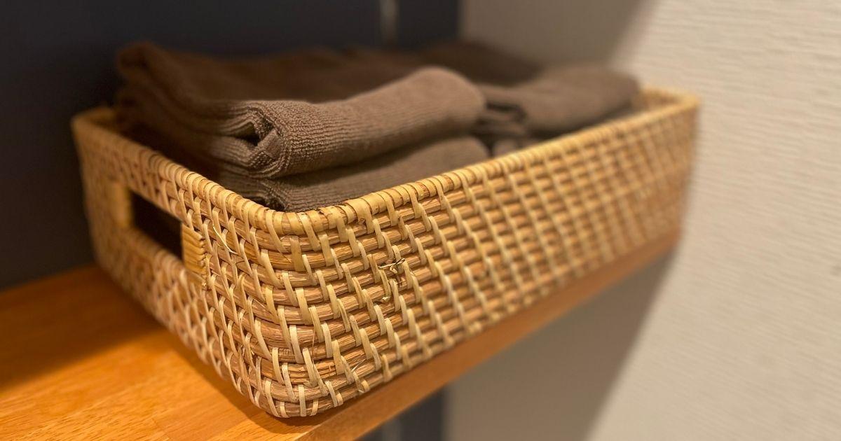 【やってよかった家事効率化①】タオルを統一&バスタオルをやめる